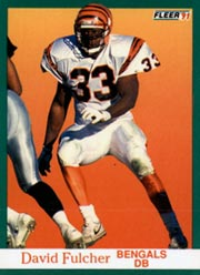 David Fulcher - DB #33