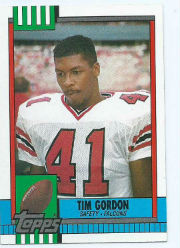 Tim Gordon - DB #41