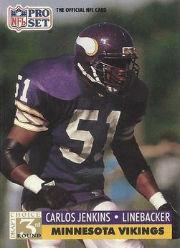 Carlos Jenkins - LB #51