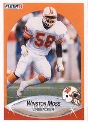 Winston Moss - LB #58