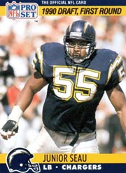 Junior Seau - LB #55