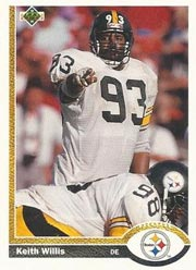 Keith Willis - LB #93