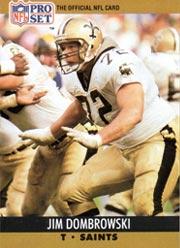 Jim Dombrowski - OL #72