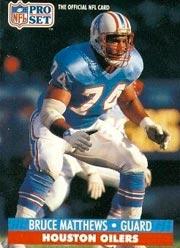 Bruce Matthews - OL #74