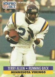 Terry Allen - RB #21