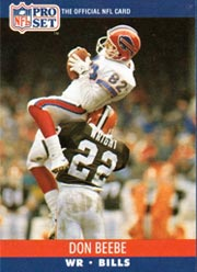 Don Beebe - WR #82