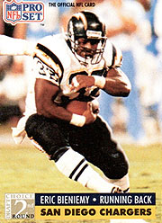 Eric Bieniemy - RB #32