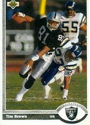 Tim Brown - WR #81