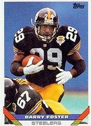 Barry Foster - RB #29