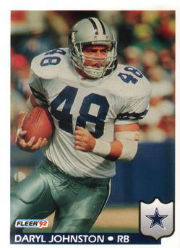 Daryl Johnston - RB #48