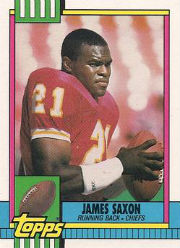 James Saxon - RB #22