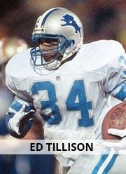 Ed Tillison - RB #34