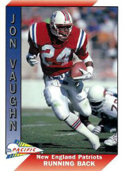 Jon Vaughn - RB #24