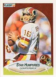 Stan Humphries - QB #12