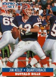 Jim Kelly - QB #12