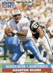 Warren Moon - QB #1